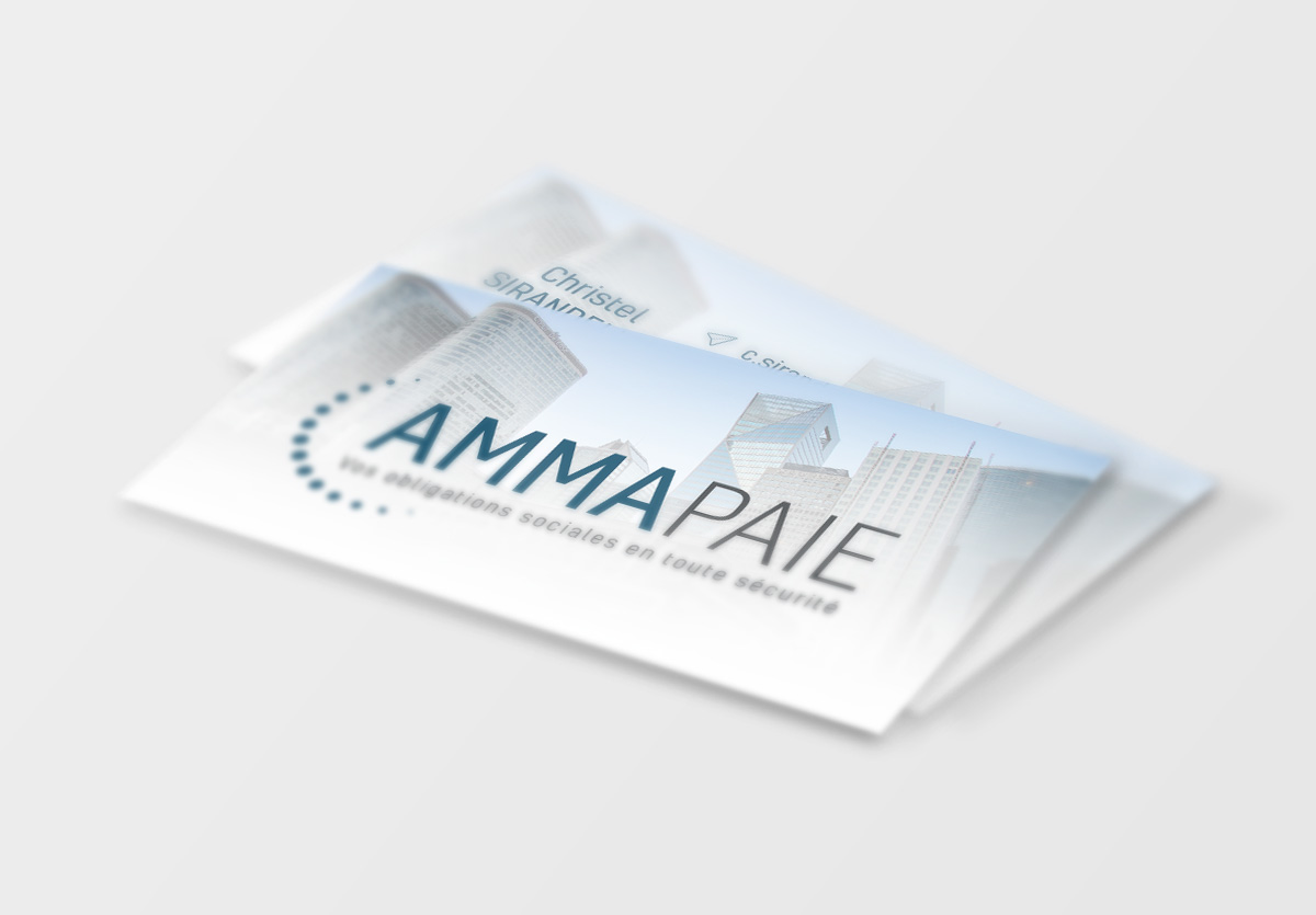 .Carte de visite Amma Paie 85x54mm