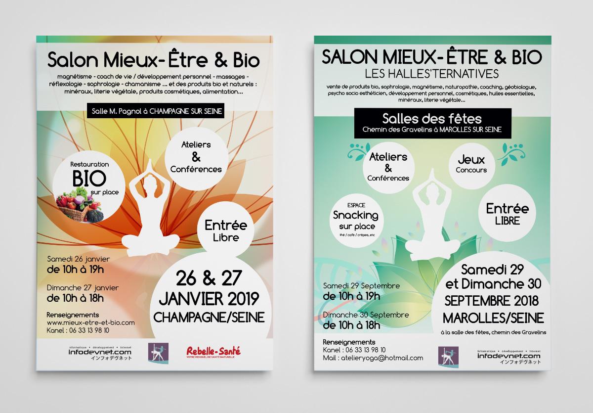 .Affiche A3 Salon Mieux-Etre et Bio