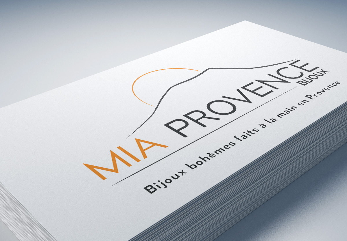 .Carte de Visite Mia Provence 85x54mm