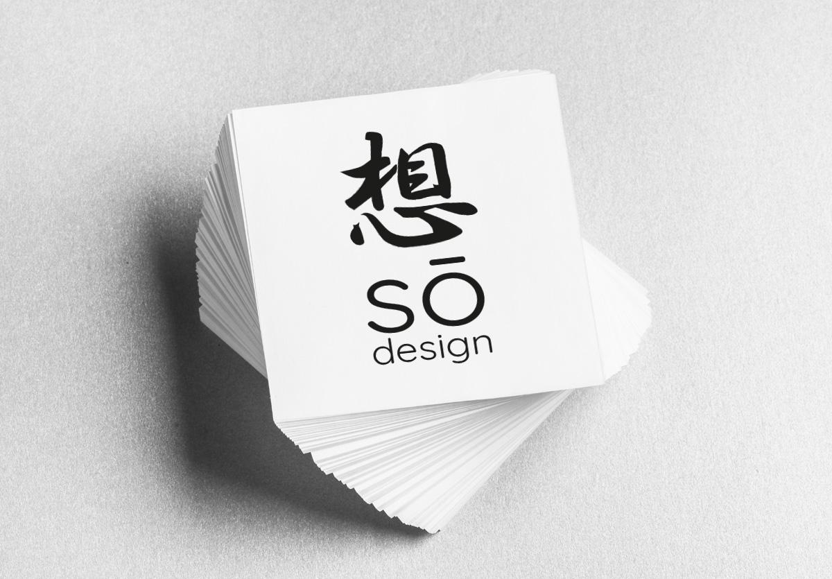 .Carte de Visite sō design 50x50mm
